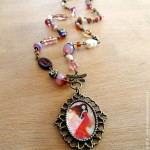 necklace - Handmade Jewelry collection © Anne-Julie Aubry / The Nebulous Kingdom