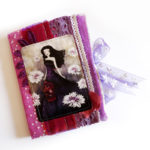 fabric journals created by Anne-Julie Aubry (c) 2017 - annejulieart.com